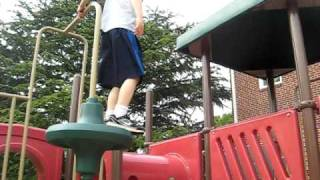 5 Year Old Parkour (best Yet)