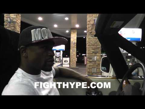 FLOYD MAYWEATHER ROLLS TO MCDONALD'S FOLLOWING CANELO VICTORY PT. 2: