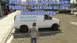 GTA 5 Side Mission: Mrs Phillips Location Of The