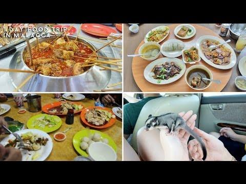 Weekend food trip to malacca