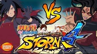 Naruto Ultimate Ninja Storm 4 Madara Vs Hashirama