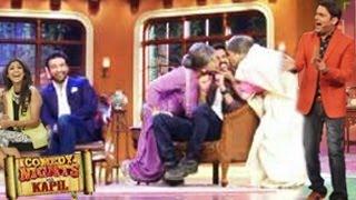 Shilpa Shetty & Harman Baweja's KISSING ACT On Comedy