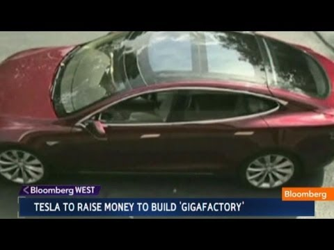 Tesla to Raise Money to Build a `Gigafactory'