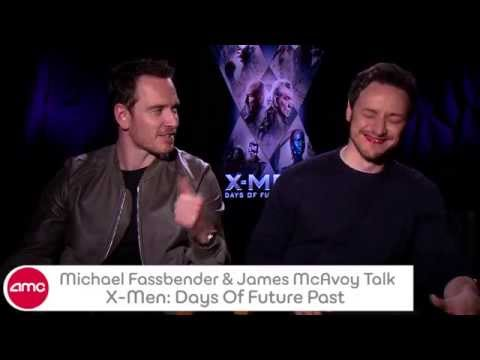 Michael Fassbender & James McAvoy Talk X-MEN: DAYS OF FUTURE PAST With AMC