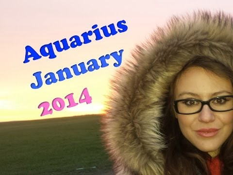 AQUARIUS JANUARY 2014 with astrolada.com