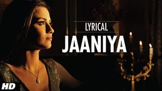 Jaaniya Full Song With Lyrics - Haunted
