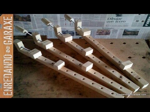 como hacer sargentos de madera how to make wooden bar