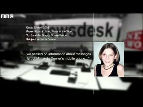 Phone hacking-trial - Brooks & Coulson In Contact When Dowler Story Was Changed  05.11.2013