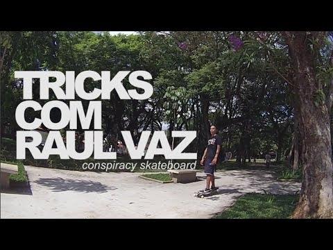 Conspiracy Skateboard | Tricks com Raul Vaz