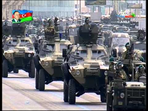 Azerbaijani Military Parade 2013 - land forces // Hərbi parad - 26 iyun 2013