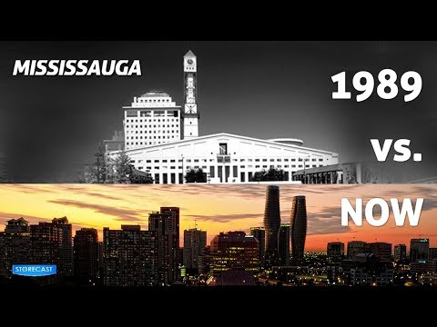 Mississauga - 1989 vs 2013