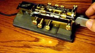 Bug Telegraph Key W5PEH Begali INTREPID Semi Automatic