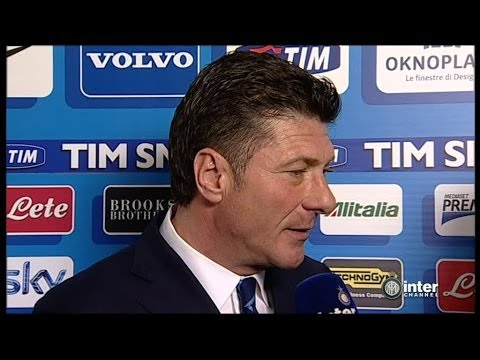 INTERVISTA WALTER MAZZARRI POST INTER-ATALANTA