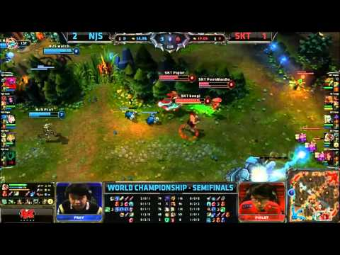 Najin Sword vs SK Telecom, Semifinal Game 4
