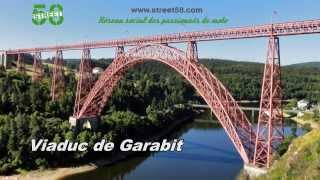 Roadbook moto Cantal : Le Viaduc de Garabit