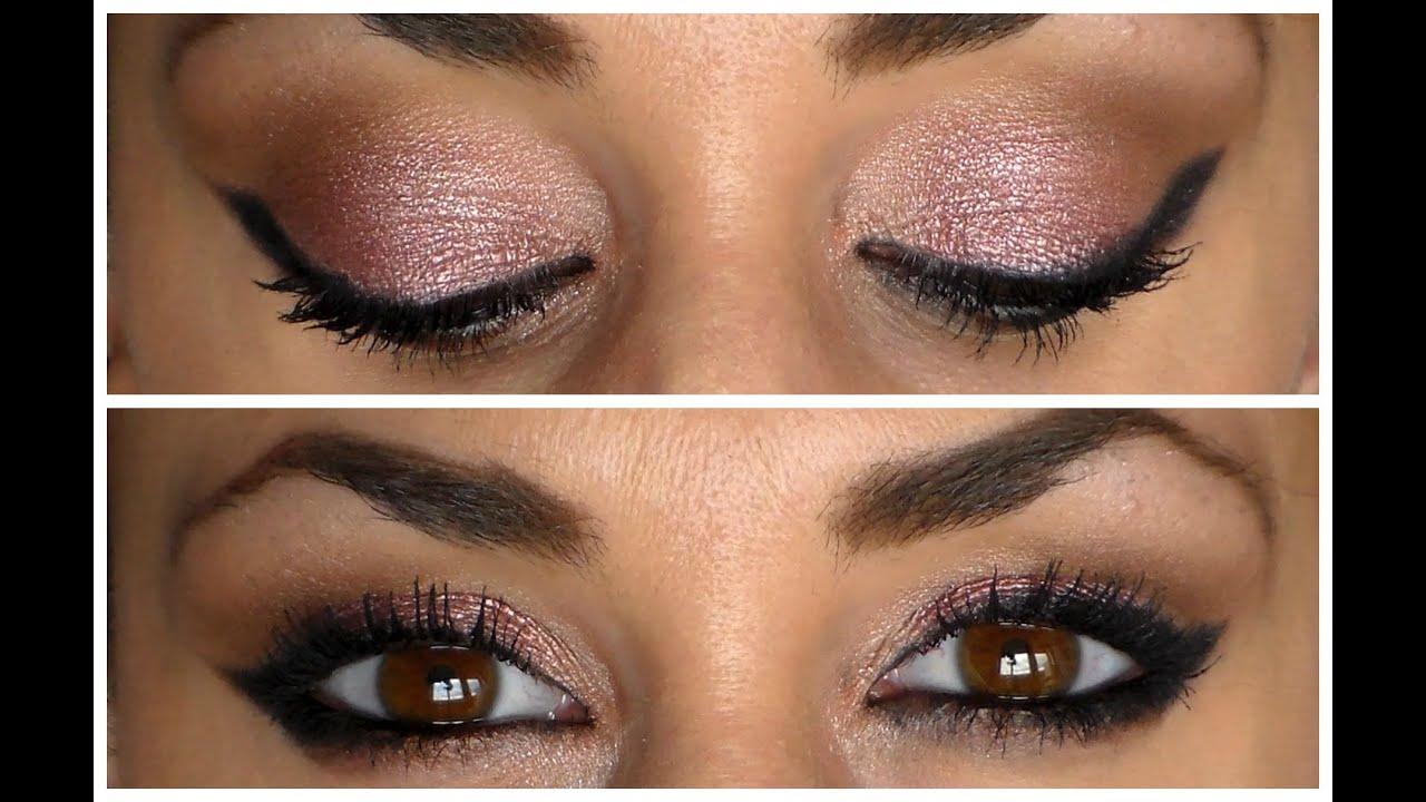 Hazel eyes makeup