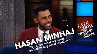 Hasan Minhaj And Stephen Compare WH Correspondents' Dinner Stories