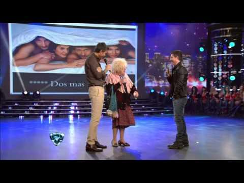 Showmatch 2012 - Suar, Tinelli y la Abuela, un diálogo desopilante