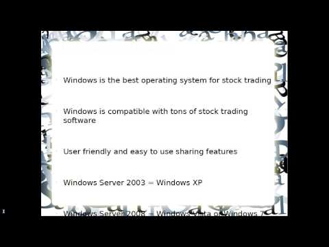Trading Stocks with Dedicated Servers