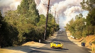 EVACUATING NEW HOUSE *SOCAL FIRES*