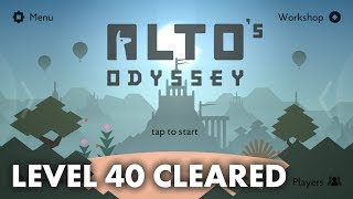 Alto's Odyssey - Level 40 Goals and Walkthrough