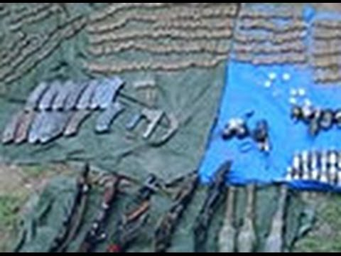 Biggest cache of arms seized in 2014