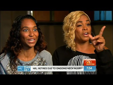 TLC - Interview + About Rihanna (Live @ Sunrise Australia 06.June.2013)-AlperErgul