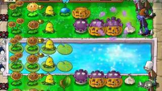 Let's Play Plants Vs Zombies 59 Supervivencia: Piscina