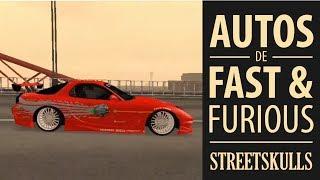 Autos De Rapido Y Furioso En GTA San Andreas (FnF Cars