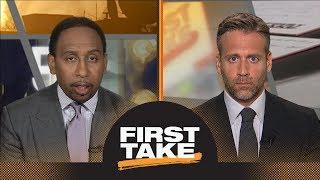 Damian Lillard or Kawhi Leonard: First Take debates who Lakers should target | First Take | ESPN