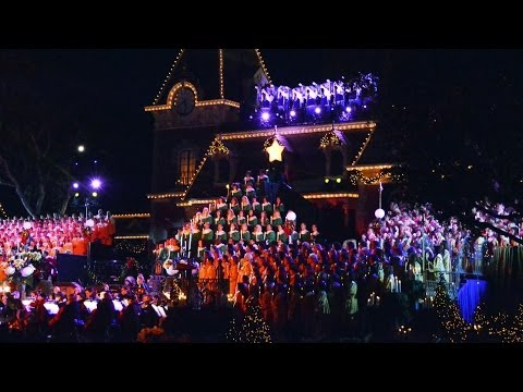 Disney's Candlelight Processional 2013 at Disneyland With Guest Narrator Blair Underwood