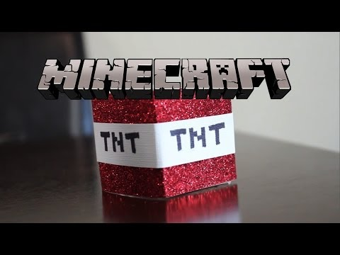 Minecraft TNT Candle - DIY GG