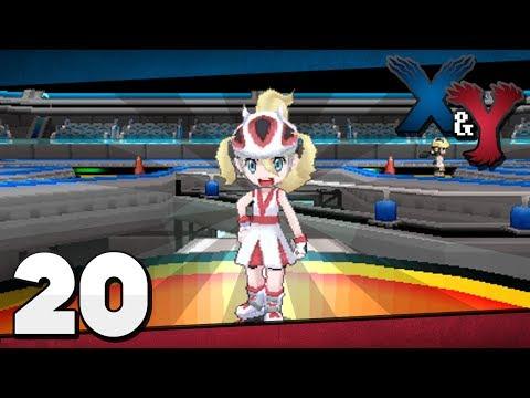 Pokémon X and Y - Episode 20   Shalour Gym Korrina!