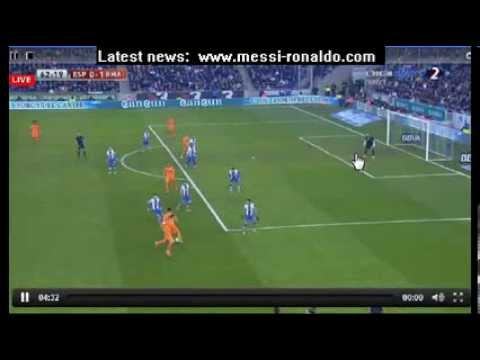 BIG FAIL ALVARO ARBELOA / Espanyol 0-1 Real Madrid