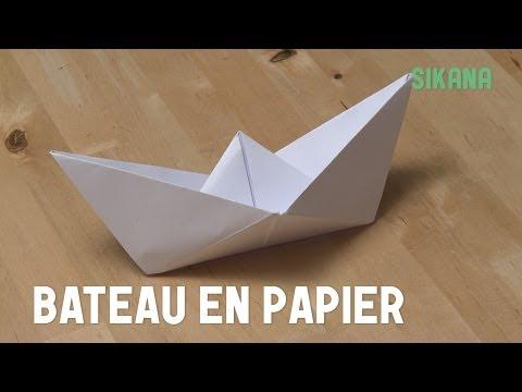 Comment faire un bateau en papier ?