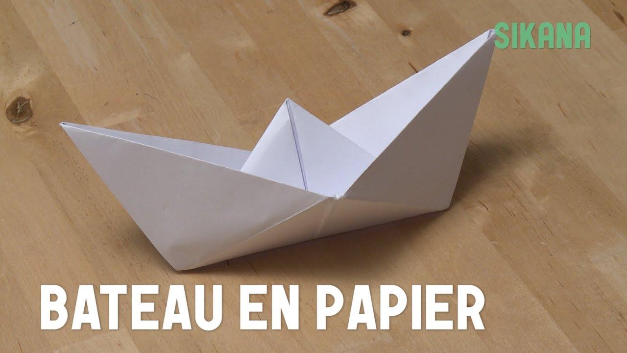 origami bateau en papier hd youtube. Black Bedroom Furniture Sets. Home Design Ideas