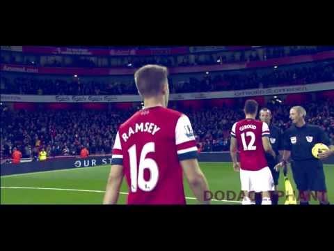 Aaron Ramsey - Goals, Skills, Assists 2013/14