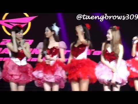 [HD Fancam] 130914 SNSD - Talk 1 @ GG World Tour Jakarta