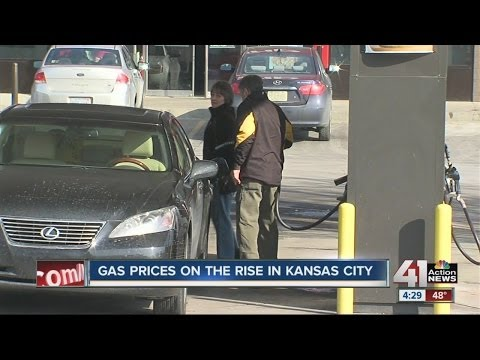 Gas prices on the rise in Kansas City