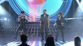 Grupi FREE SPIRIT - I LOVE ROCK AND ROLL - LIVE ne X factor Albania 3