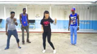 Magnificent Dancers (Jamaica) & Aga Morko (Poland) (endorsing new steps)