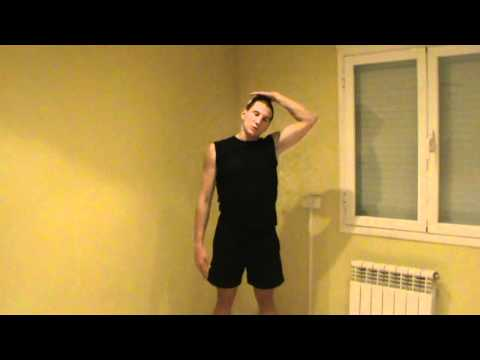 Cómo estirar el cuello - Hacer estiramientos