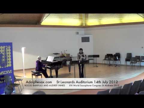 WSCXVI ROCIO BANYULS AND AUDREY INNES   Sonata by Richard Rodney Bennet