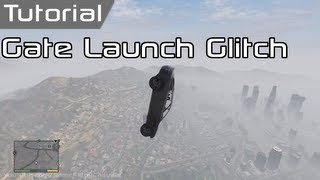 GTA V: Gate Launch Glitch (Tutorial) - [GTA 5 Swingset Glitch]