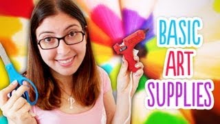 Basic Art Supply Kit // Great For Back To School Or