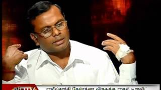 LENINKARUPPAN(DHARMANANDA) RE- ACCUSED 420 NITHYANANDA IN  NDTV  TAMIL INTERVIEW