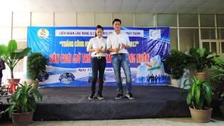 Diễn viên Điện ảnh Lê Phương - Ca sĩ Trung Kiên đồng hành cùng Công Nhân