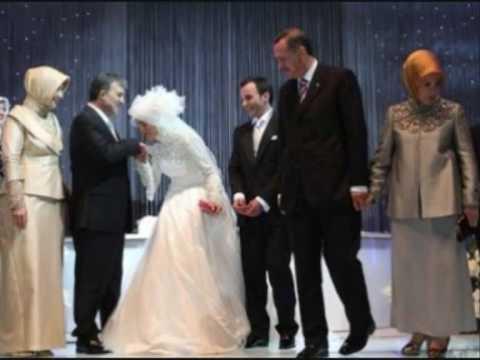 Turkish President  فستان زفاف ابنة الرئيس التركي يخالف كل التوقعات