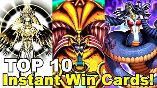 TOP 10: Instant Win Yugioh Cards!