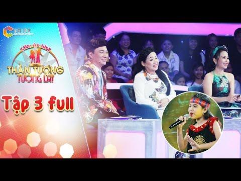 Thần tượng tương lai | tập 3 full HD: Cẩm Ly, Quang Linh thích thú với giọng hát của cô bé 10 tuổi